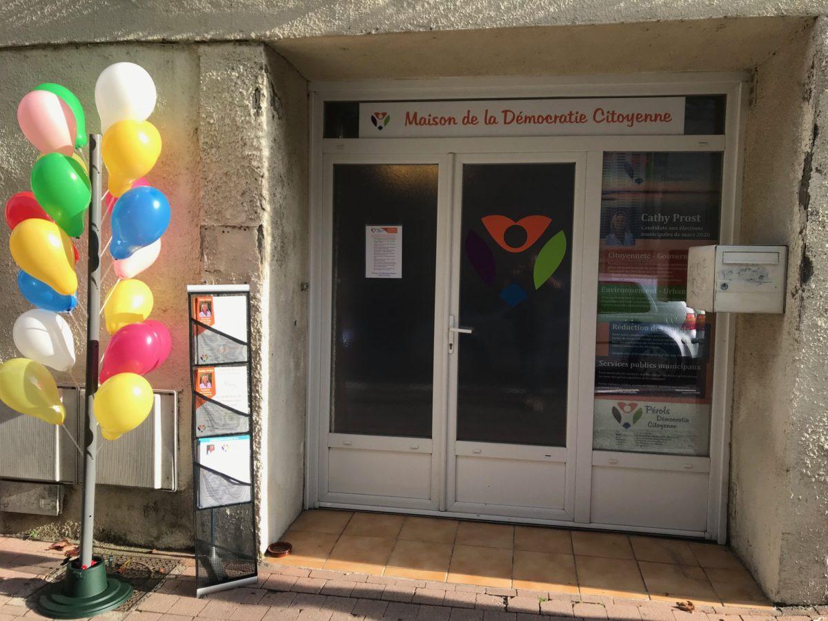 Inauguration de la Maison de la Démocratie Citoyenne