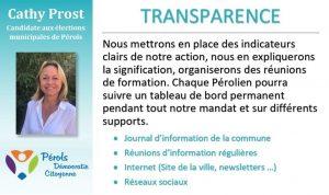 La transparence de l'information permet une meilleure vigilance citoyenne