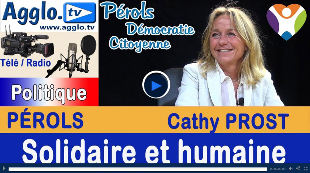 Interview de Cathy Prost sur AggloTV