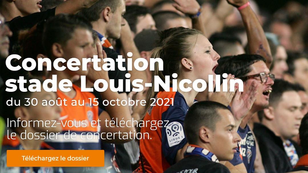 Concertation sur le transfert du stade de la Mosson à Pérols